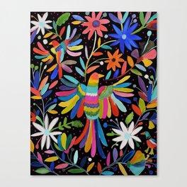 pajaros Otomi Canvas Print