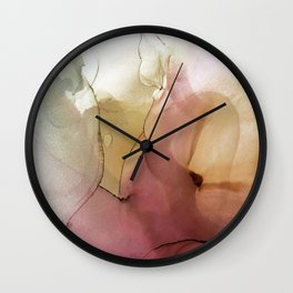 Summer Nectar Wall Clock