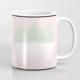 geometric pink pattern Coffee Mug