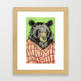 Urban Bear Framed Art Print