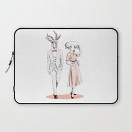 Bestial fashion couple Laptop Sleeve
