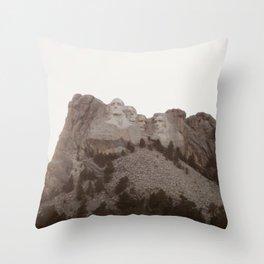Grand Rushmore Throw Pillow