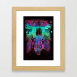 When the music's over Framed Art Print