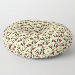Cats invasion Floor Pillow