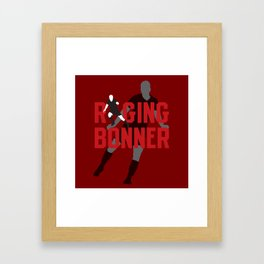 Raging Bonner Framed Art Print