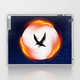 The Head is too Wise The Heart is All Fire | Raven Cycle Design Laptop & iPad Skin