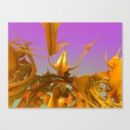 Brushed Brass Benjamin Canvas Print