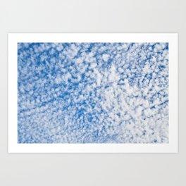 cloudy sky 2 Art Print