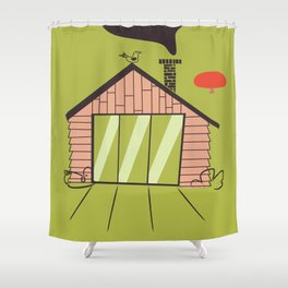 No place like home Shower Curtain