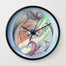 Color Vision Wall Clock