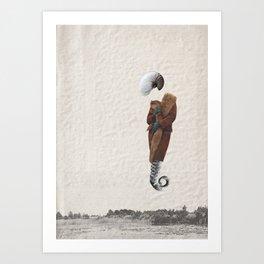the ? Art Print