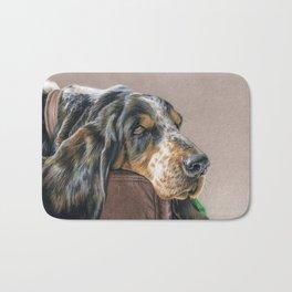 Hound Dog Bath Mat