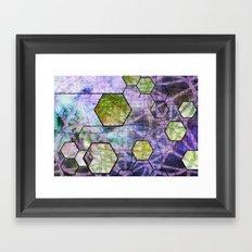 Aether Framed Art Print