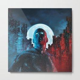 Urban Android Metal Print
