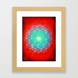 Alien Egg Cluster Framed Art Print