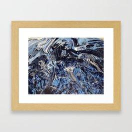 Grater Blue Framed Art Print