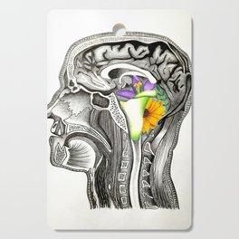 Flowers in my head Cutting Board