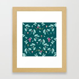 Ginkgo Midori Framed Art Print