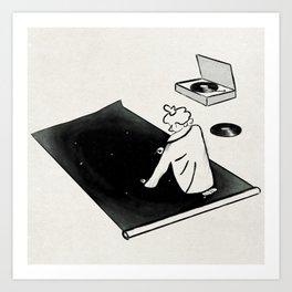 Tune In Art Print
