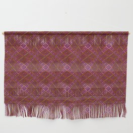 African Mud Cloth Inspired | Diamond Pattern Wall Hanging