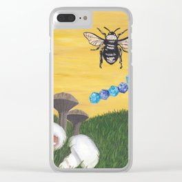BEE-lieve Clear iPhone Case
