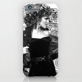 Grease Movie  Olivia Newton-John - John Travolta iPhone Case