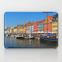 "copenhagen iPad Cases featuring New Port ""Copenhagen"" by Alan Pary"