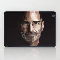 steve jobs iPad Cases featuring Steve Jobs by Misha Libertee