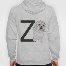 Z is for Zuchon Dog Hoody
