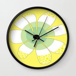 FLOWERY VIGGA  / ORIGINAL DANISH DESIGN bykazandholly Wall Clock