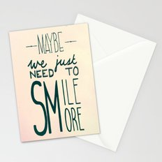 Smile More Stationery Cards