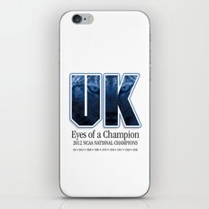 Eyes of a Champion iPhone & iPod Skin