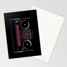 Boombox  Stationery Cards
