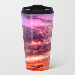 Sunset sky Travel Mug