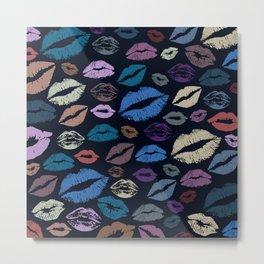 Lips 20 Metal Print