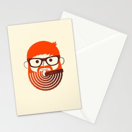 The Gradient Beard Stationery Cards