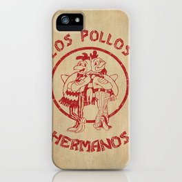 Los Pollos Hermanos vintage ( Breaking Bad ) iPhone Case