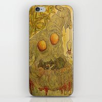 pasta iPhone & iPod Skins featuring Killer Pasta by Marcelo O. Maffei