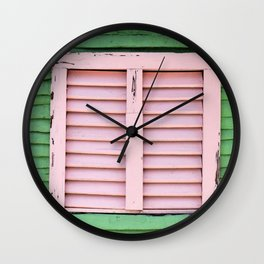 Tabla de palma 3 Wall Clock