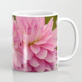 Fresh Rain Drops - Pink Dahlia Coffee Mug