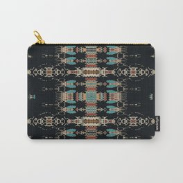 Aztec Mud Cloth Carry-All Pouch