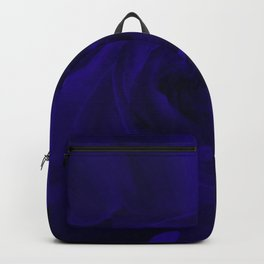 rose liquid dark purple Backpack