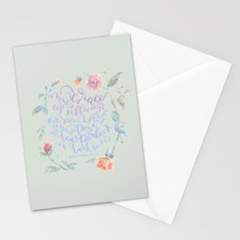 My Grace is Sufficient - 2 Corinthians 12:9 / sage Stationery Cards