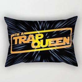 I Am A Trap Queen Rectangular Pillow