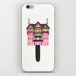 Cotton Candy House iPhone Skin