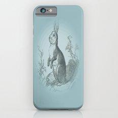 Bunny Rabbit {teal} Slim Case iPhone 6s