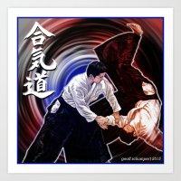 Aikido: The Way of Harmonious Spirit Art Print