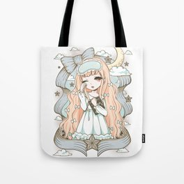 Good Night World Tote Bag