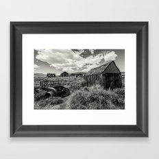 The Ghost Town Framed Art Print
