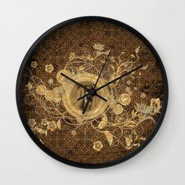 Scary skull Wall Clock